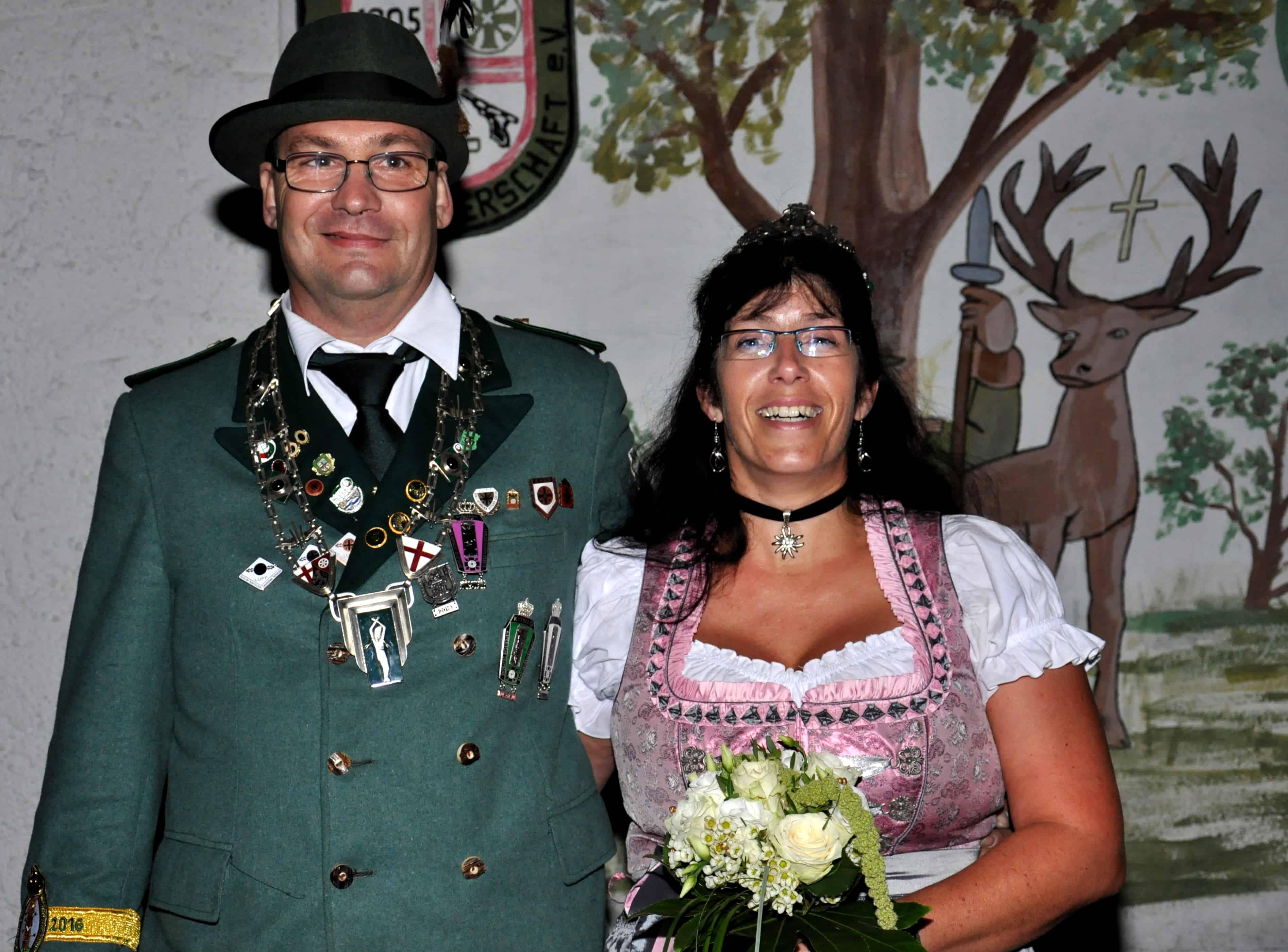 Königspaar Stefan und Nicole Tullius